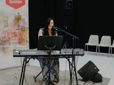 Clara Blume Konzert in Spanien © agentur better