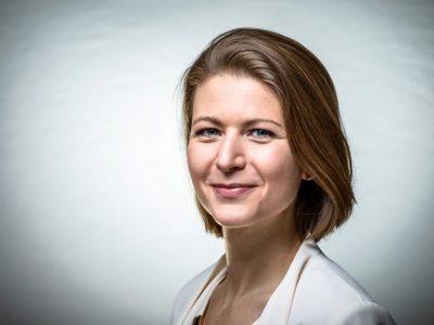 Initiatorin und Projektleiterin Katharina Moser © Sascha Osaka